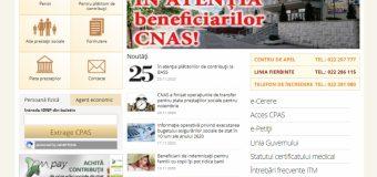 Site-ul CNAS a devenit accesibil pentru persoanele cu deficienţe de vedere