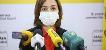 Maia Sandu cheamă la protest: Se anulează rezultatele votului dat de popor