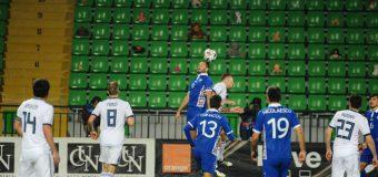 Naționala Moldovei a încheiat la egalitate meciul amical cu reprezentativa Rusiei