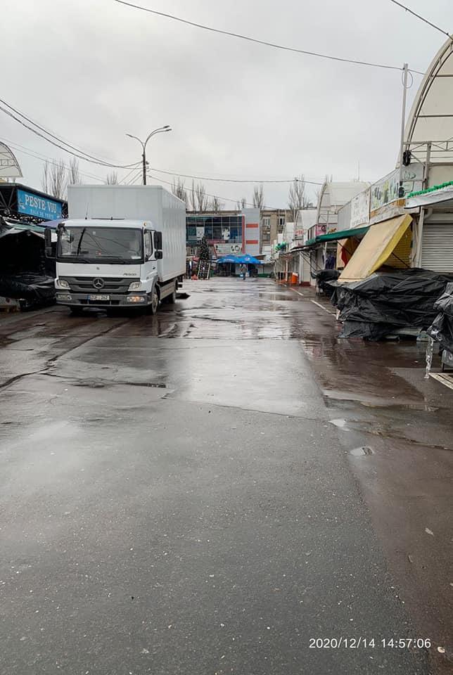 În legătură cu sărbătorile de iarnă, Piața Centrală din Chișinău va activa conform unui program special
