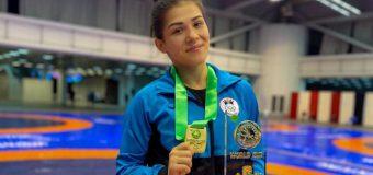 Cupa Mondială: Luptătoarea Anastasia Nichita a cucerit medalia de aur