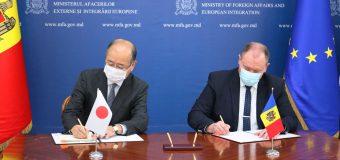 Japonia va oferi R. Moldova un grant de 800 mii de euro pentru achiziționarea echipamentelor medicale
