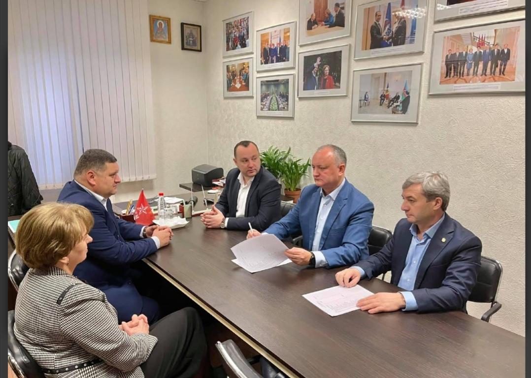 PSRM – în ședință