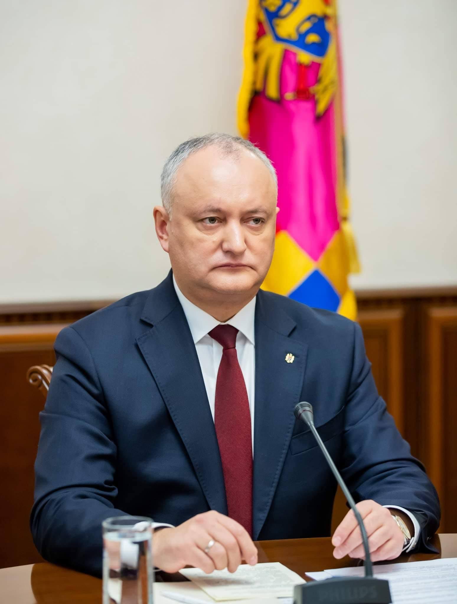 Igor Dodon: Situația de urgență declarată de Parlament trebuie continuată, iar unele restricții ar putea fi minimizate sau parțial retrase