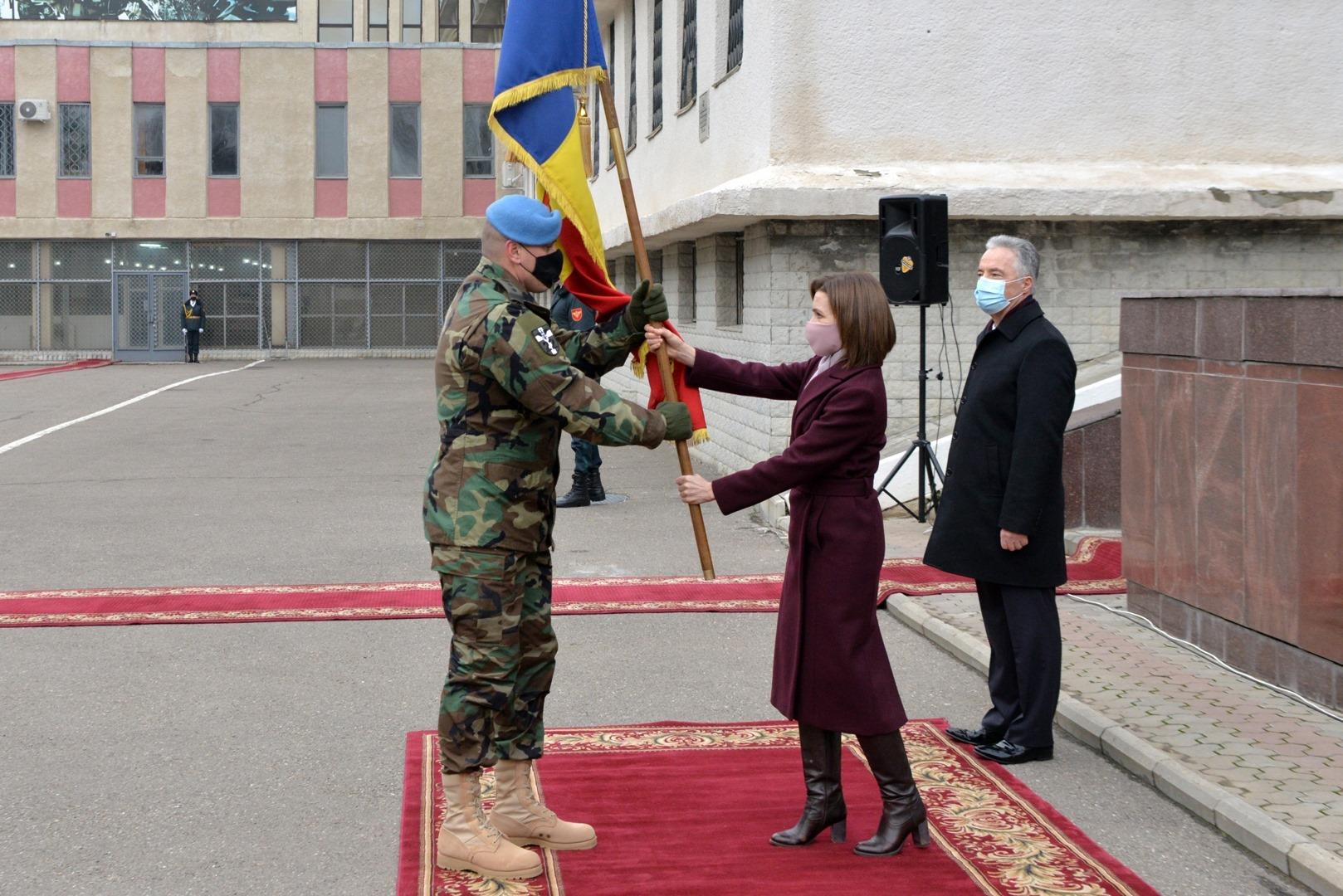A fost detașat un nou contingent în operaţiunea de menţinere a păcii KFOR din Kosovo