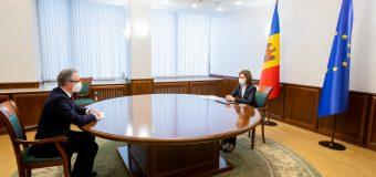 Maia Sandu, la discuție cu șeful Misiunii OSCE în RM: Lupta împotriva corupției este una dintre cele mai importante priorități