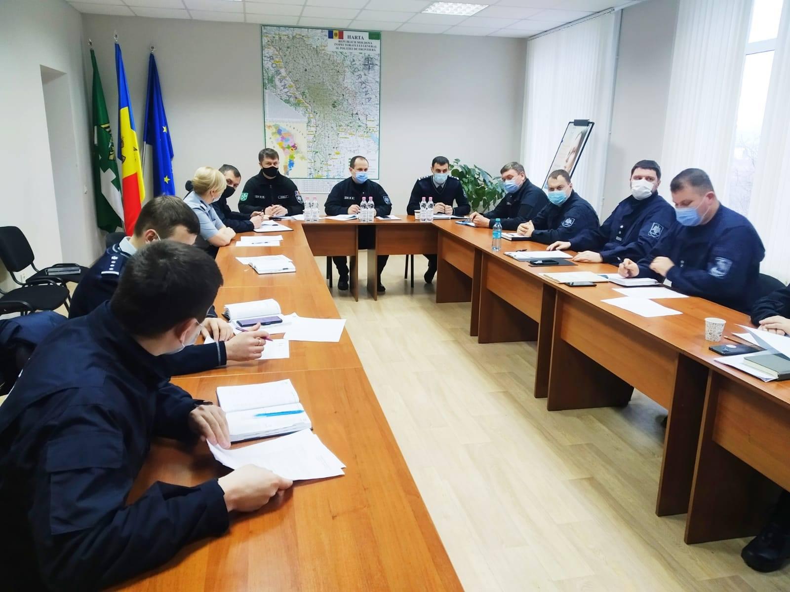 Direcția regională Centru a Poliției de Frontieră și-a prezentat analiza pe activitate în anul 2020