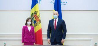 Președintele Republicii Moldova s-a întâlnit cu Prim-ministrul Ucrainei