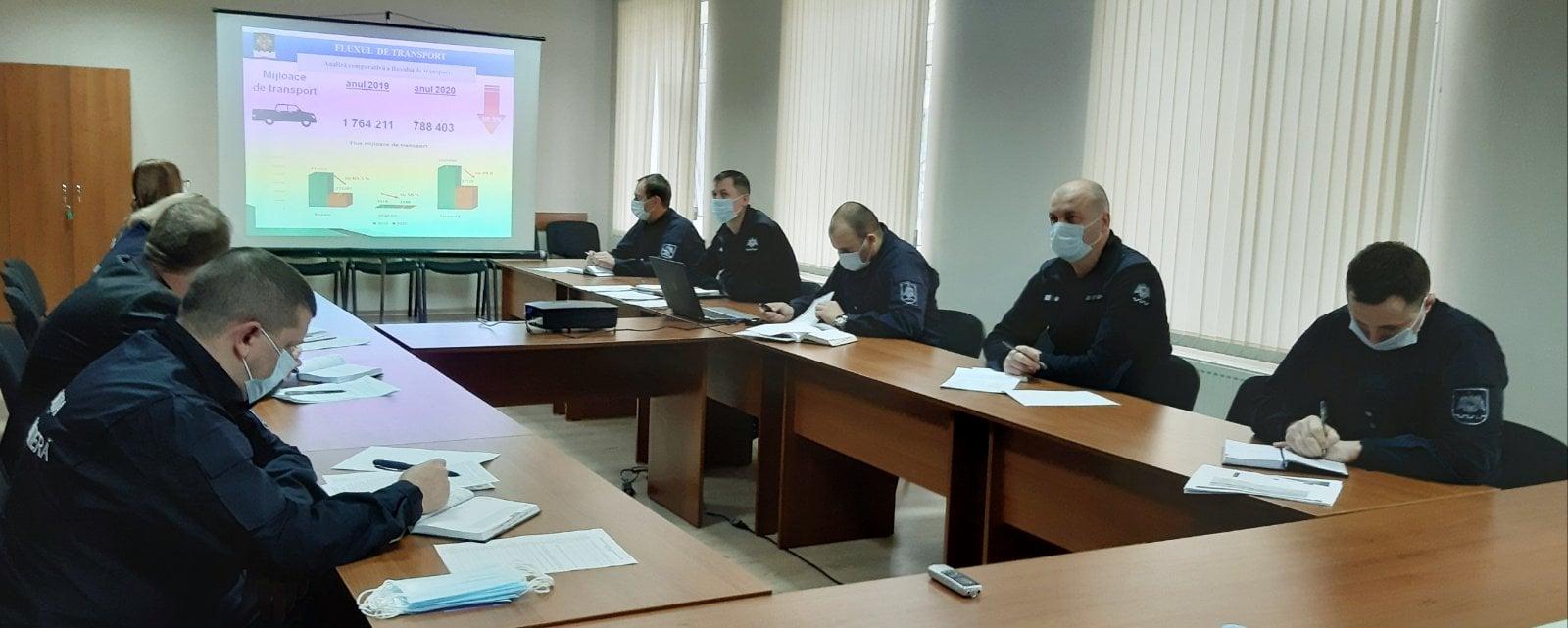 Direcția regională Vest a Poliției de Frontieră și-a prezentat activitatea înregistrată în anul 2020