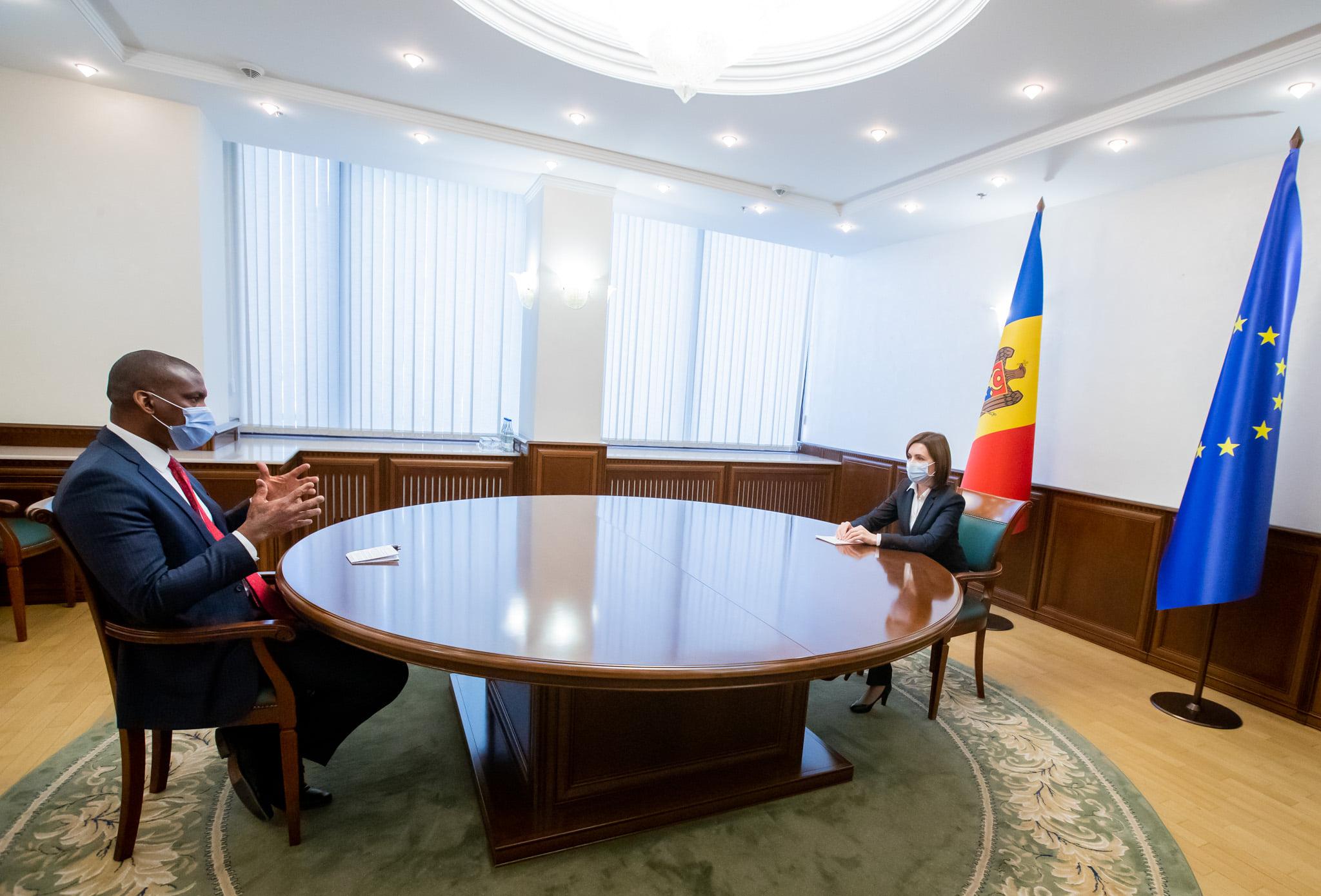 Maia Sandu s-a văzut cu Ambasadorul SUA