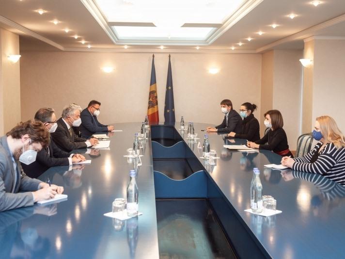 Maia Sandu către Thomas Mayr-Harting: Pentru noi, locuitorii de pe malul stâng al Nistrului sunt cetățeni ai Republicii Moldova