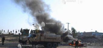 Afganistan: 14 soldaţi ucişi în explozia unei maşini-capcană