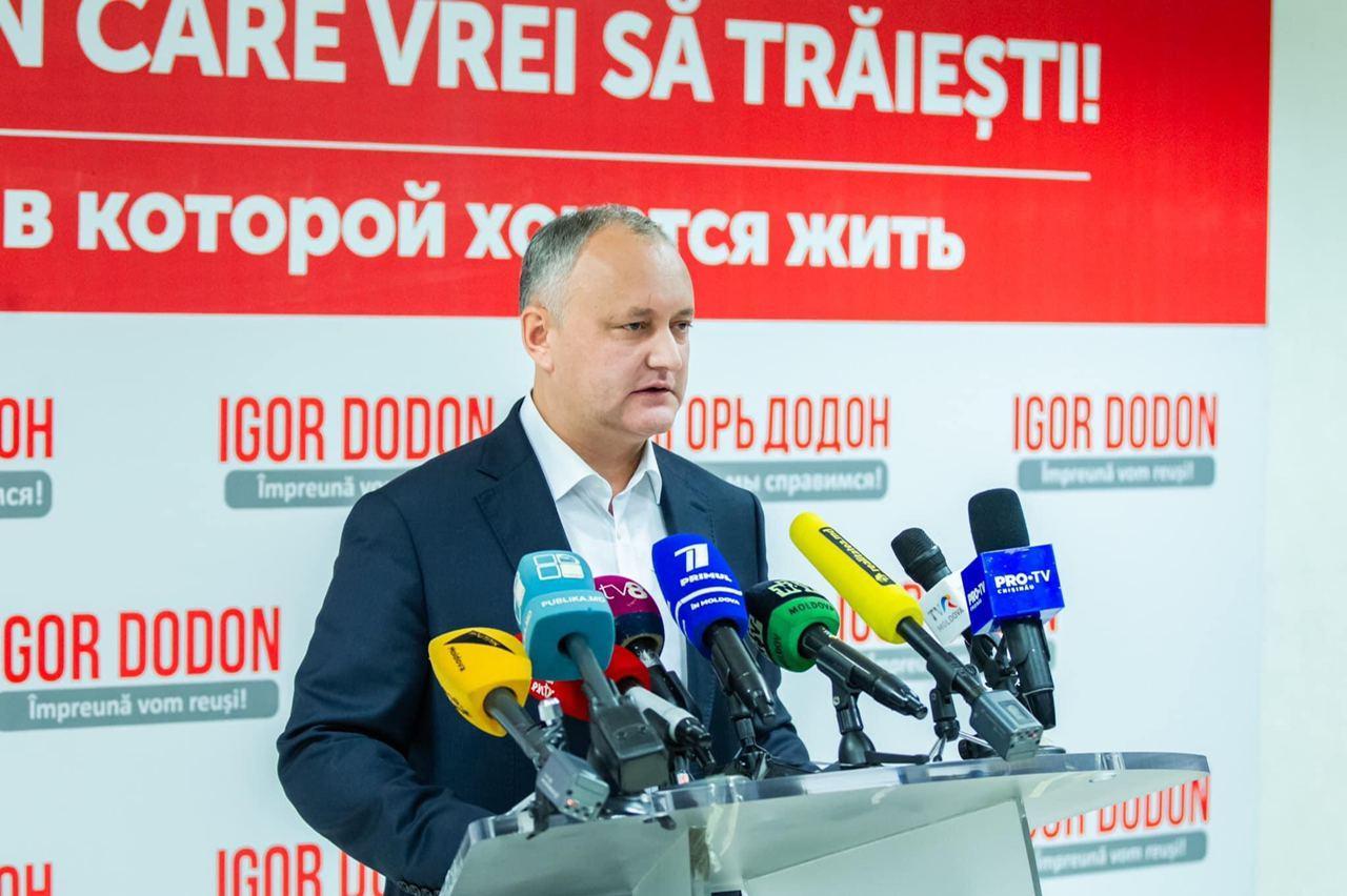 Igor Dodon: Colegii mei, specialiști în domeniul juridic, mi-au transmis astăzi că – Comisia de la Veneția…