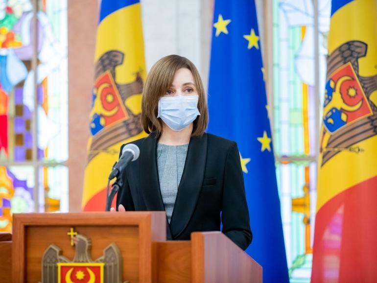 Maia Sandu a înaintat Parlamentului un proiect de lege