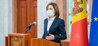 Maia Sandu – cu un discurs adresat corpului diplomatic!