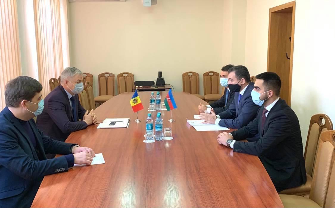 Cooperarea cu Azerbaidjan în domeniul vamal – discutat de Sergiu Burduja cu Ambasadorul Azerbaidjanului
