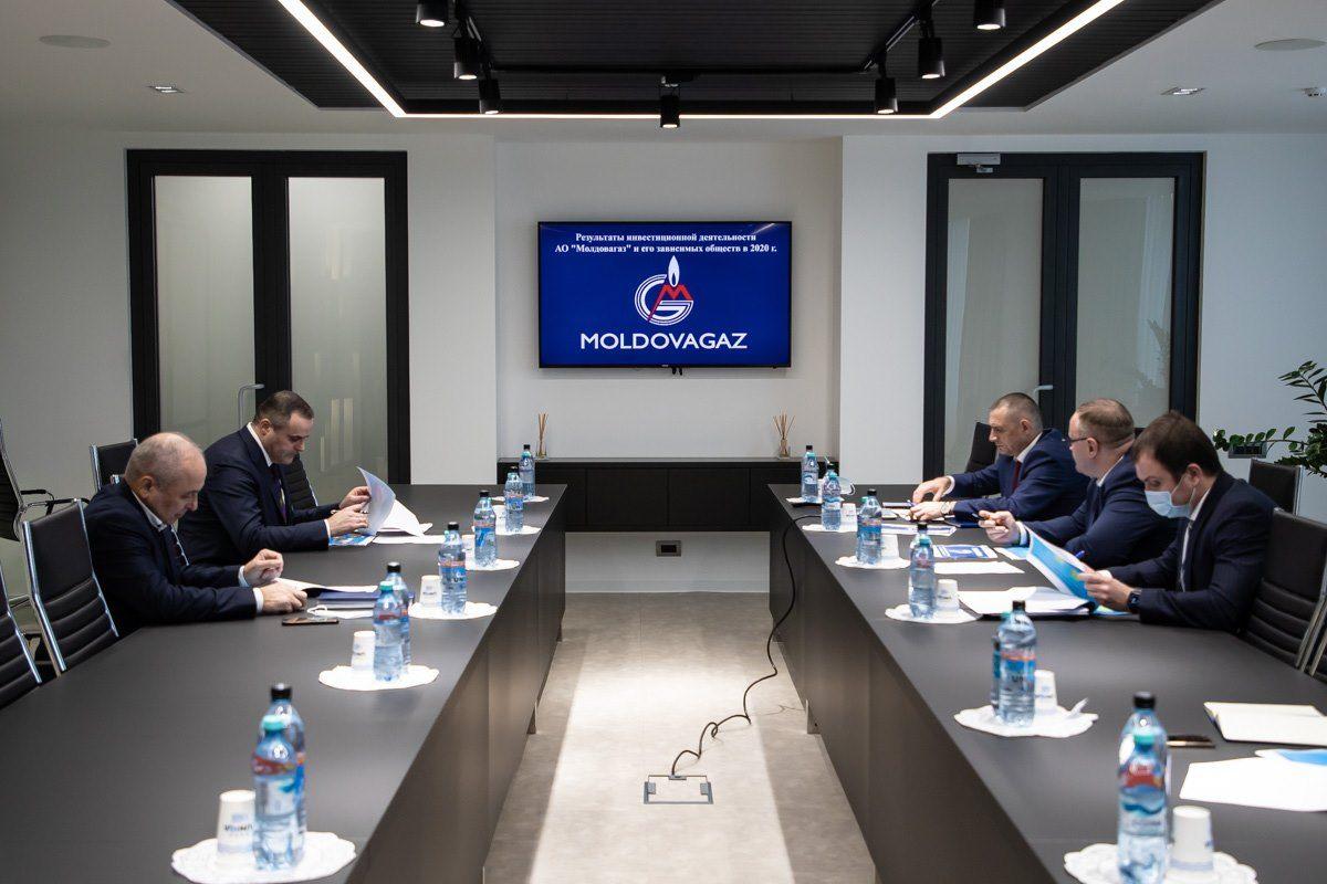 """S.A. """"Moldovagaz"""" și societățile sale afiliate au realizat în anul 2020 un program investițional în mărime de 130,5 milioane de lei"""