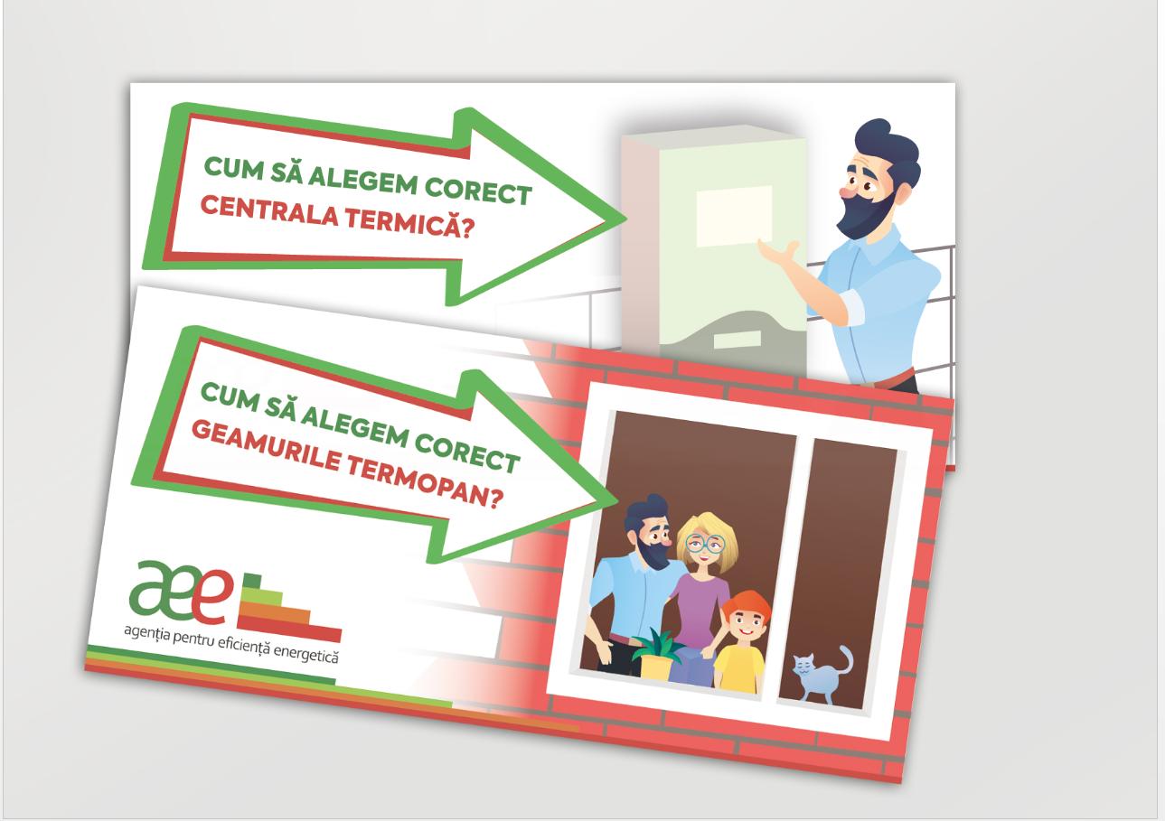 Pliante informative lansate de AEE – despre alegerea corectă a geamurilor de termopan și centralelor termice