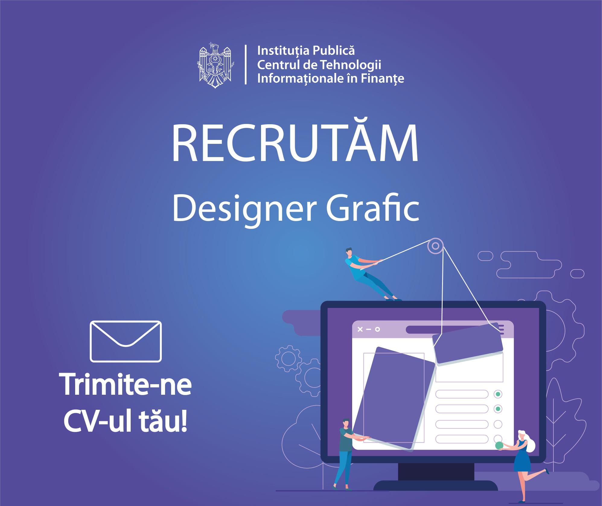 Îți place designul? CTIF angajează designer grafic