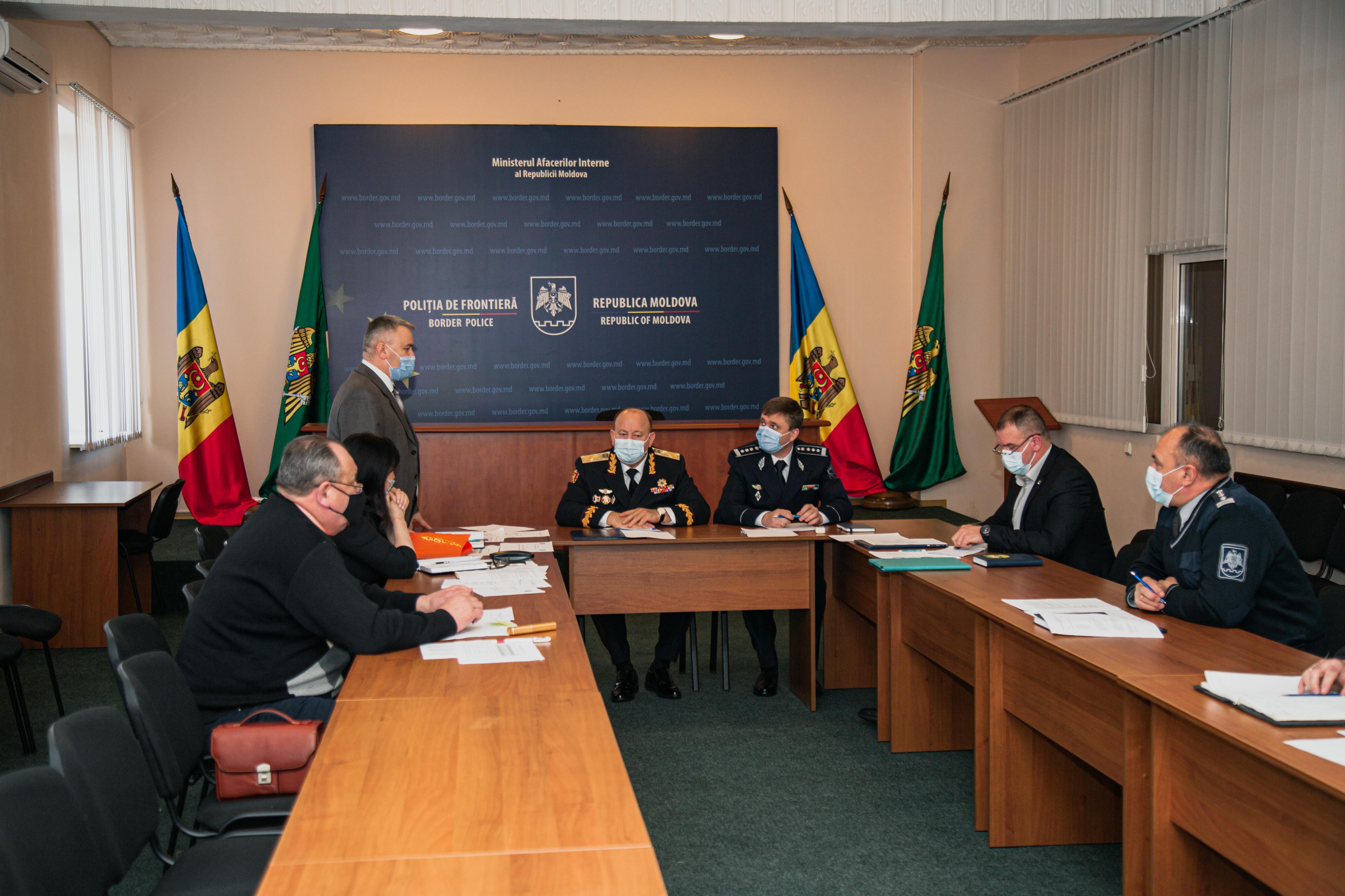 Ședința de bilanț a Consiliului Asociației Obștești a Veteranilor și Pensionarilor Poliției de Frontieră