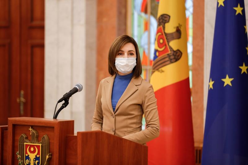 Maia Sandu: România este prima țară din UE care a reacționat imediat la solicitarea noastră de ajutor
