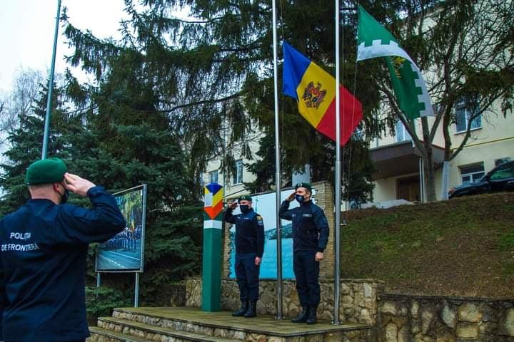 Subdiviziunile Poliției de Frontieră au cinstit memoria scriitorului Nicolae Dabija