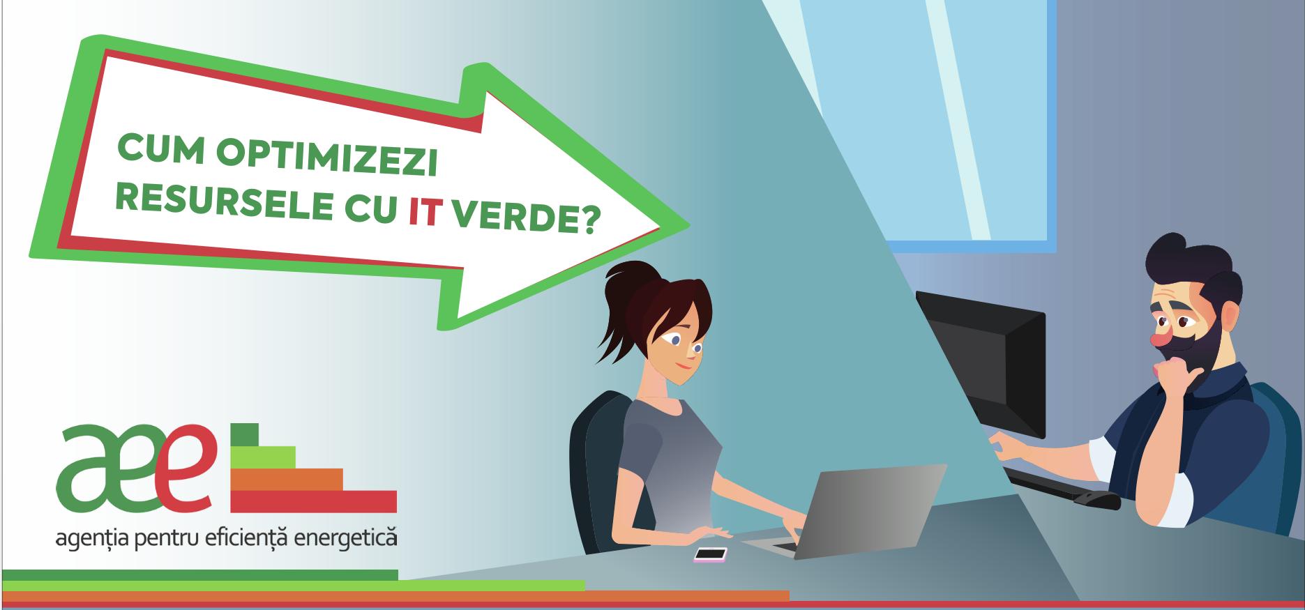 (VIDEO) Cum să optimizezi resursele cu IT verde? AEE vorbește despre pași simpli!