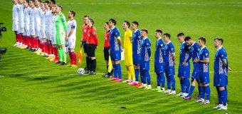Naționala Moldovei a încheiat la egalitate meciul cu Insulele Feroe