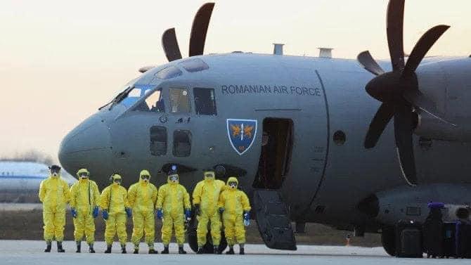 1,5 tone de echipamente de protecție sanitară pentru Republica Moldova