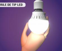 Becurile LED – 85% mai puțină lumină decât cele incandescente