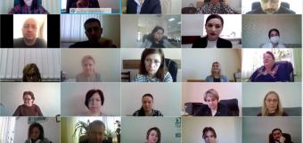Ședință trimestrială a auditorilor interni. A participat și CCRM