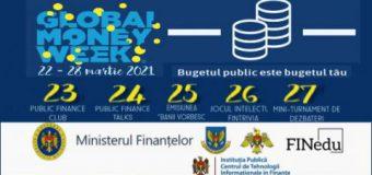 Global Money Week 2021: Tinerii vor fi familiarizați cu informații despre finanțe
