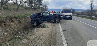 Accident cu implicarea unei mașini a Poliției