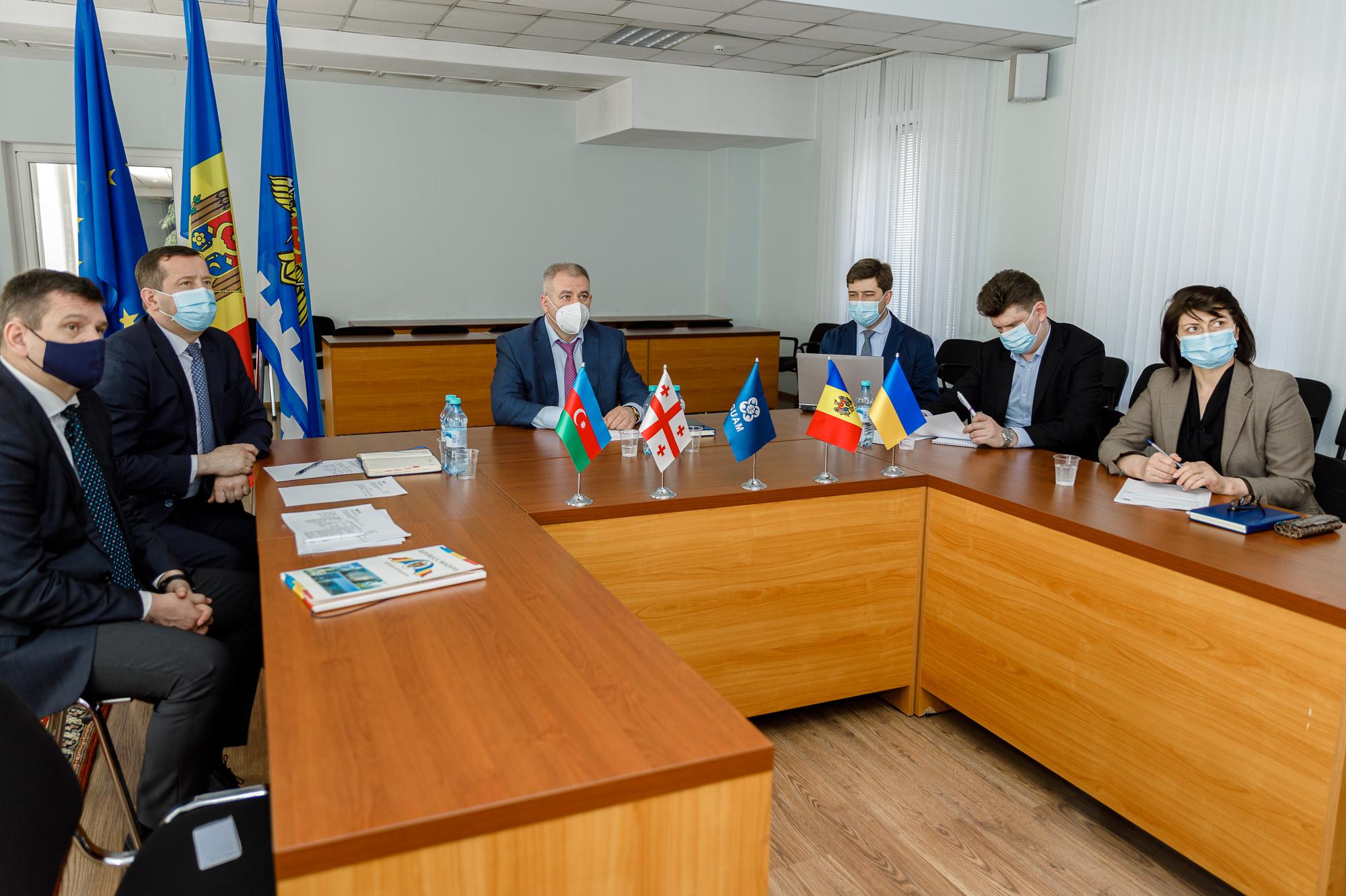 Prioritățile de dezvoltare a cooperării vamale – discutate la reuniunea statelor-membre GUAM