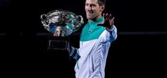 Djokovic rămâne lider detașat în clasamentul ATP! Ce loc ocupă Nadal