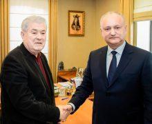 (FOTO) Dodon și Voronin au semnat pentru crearea Blocului Electoral al PSRM și PCRM
