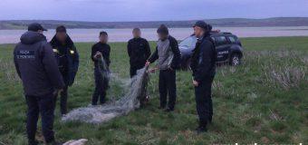 Patru pescari – amendați de polițiștii de frontieră