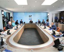 Liderii G7 se pun de acord asupra unei abordări mai dure faţă de China