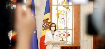 Maia Sandu: Trebuie să creăm un stat în care fiecare cetățean să aibă o viață demnă