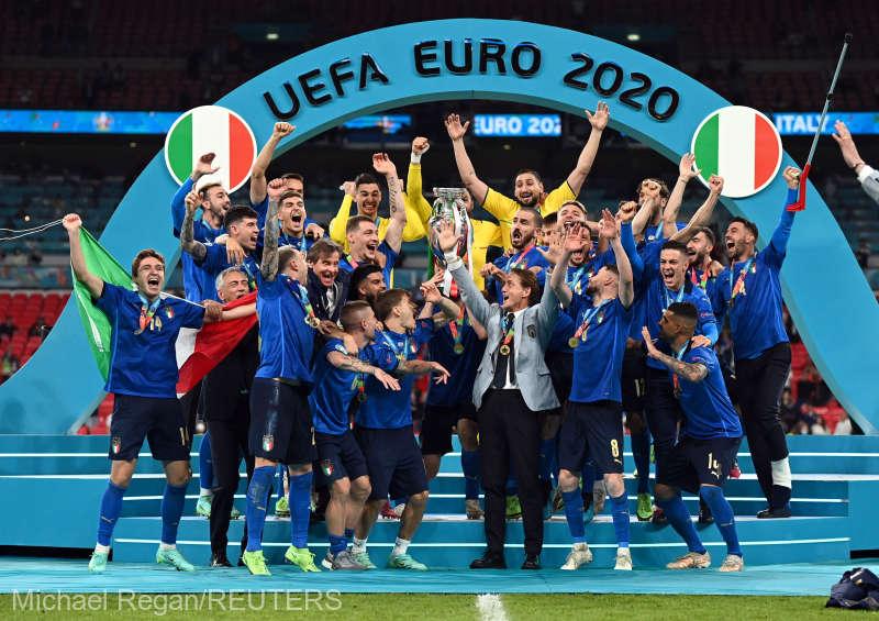 Fotbal: Italia este noua campioană europeană, după 3-2 cu Anglia la loviturile de departajare