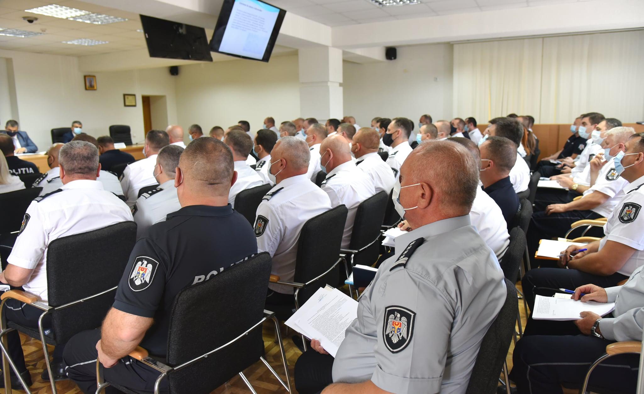 Poliția Națională – la raport! Rezultatele pentru prima jumătate din an prezentate în cadrul unei ședințe