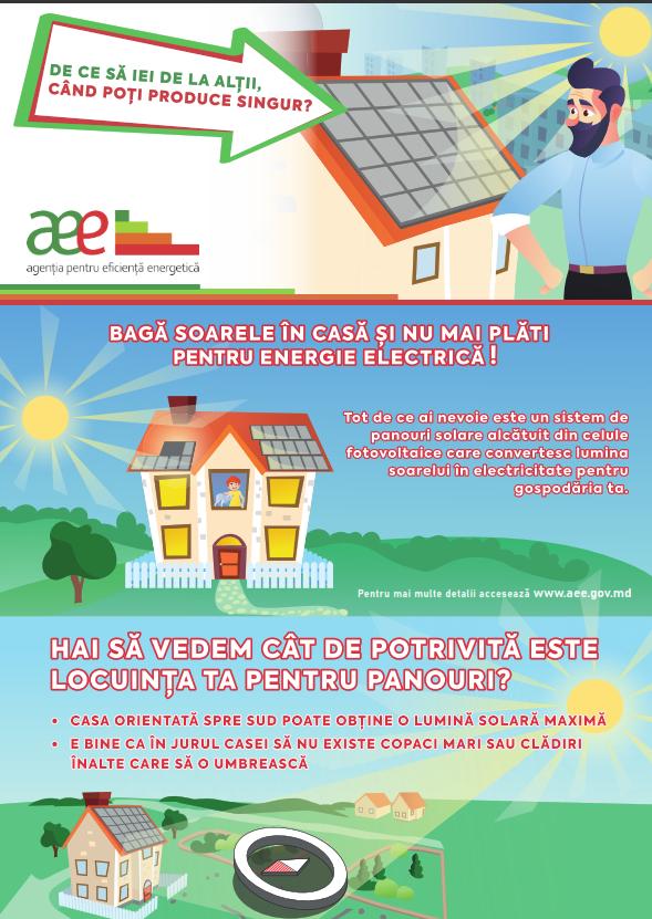 AEE informează cum să folosim rațional energia solară