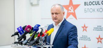 Dodon: Mizăm pe obținerea suplimentară a încă 4-6 mandate în turul doi pentru Adunarea Populară a Găgăuziei
