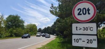 INSP: În zilele cu peste 30 grade Celsius e interzisă circulația autovehiculelor mai grele de 20 tone