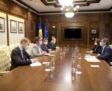 Președintele Parlamentului a avut o întrevedere cu Ambasadoarea Suediei la Chișinău
