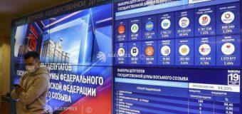Alegeri în Duma de Stat: Victoria partidului puterii Rusia Unită, reconfirmată după numărarea tuturor voturilor
