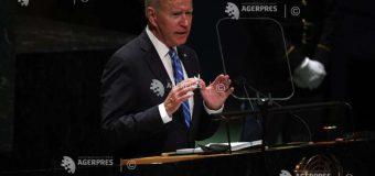 """Joe Biden dă asigurări la ONU că nu-şi doreşte un """"Război rece"""" cu China"""